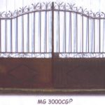 poarta din fier forjat model MGCP