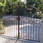 Poarta din fier forjat model Atrium