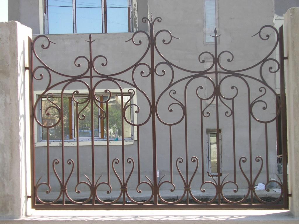 Gard din fier forjat model Nimes