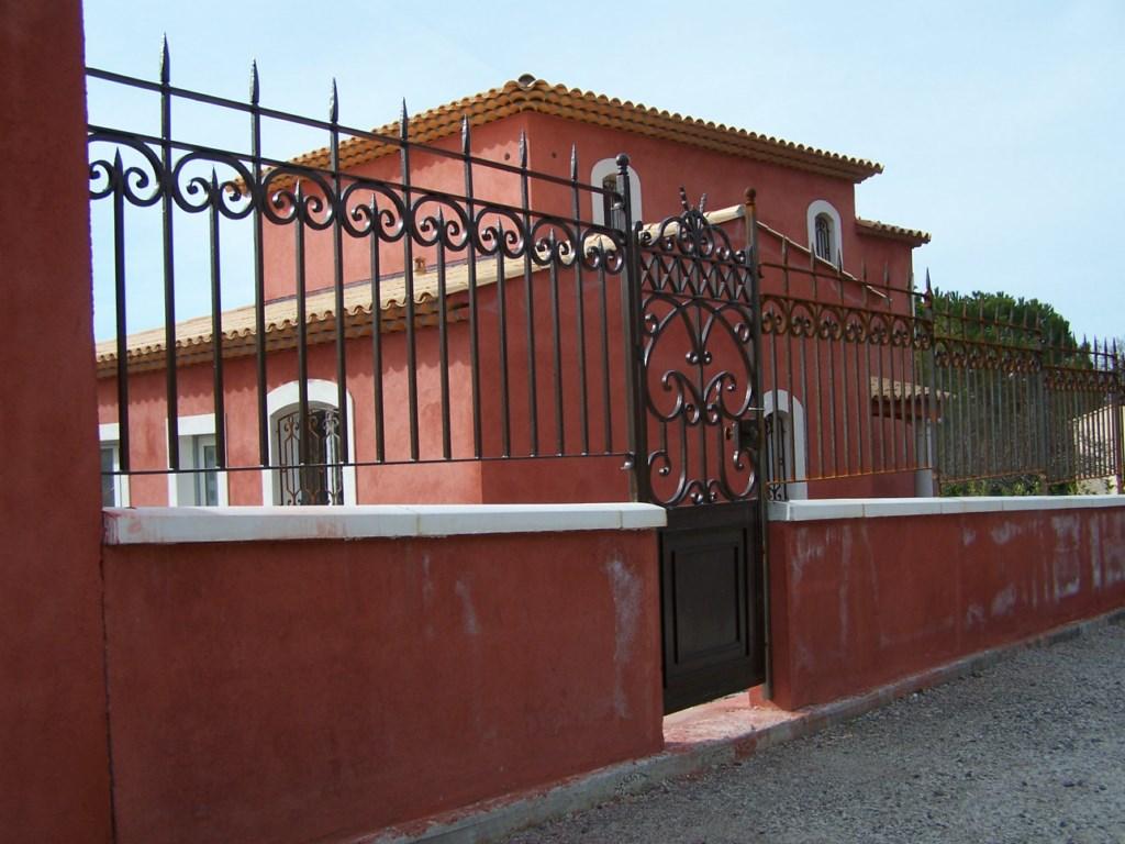 Gard fier forjat model Toscane