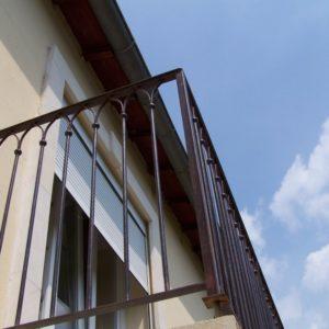 Balcon exterior fier forjat Gothix