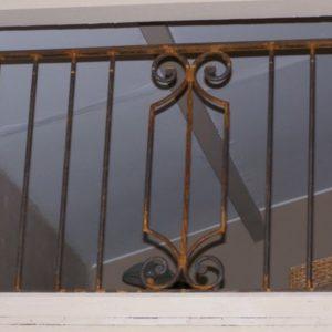 balcon din fier forjat Mario